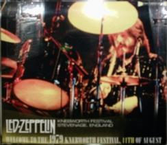 Led Zeppelin / Welcome To The 1979 Knebworth Festival, 11th of August