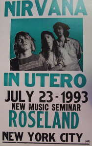 Nirvana / In Utero Tour 7/23/93