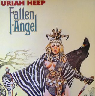 Uriah Heep - Fallen Angel LP