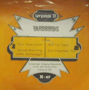Yardbirds / For Your Love EP