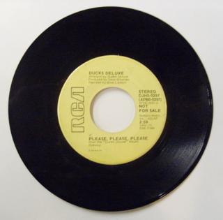 Ducks Deluxe / Please, Please, Please (Stereo)