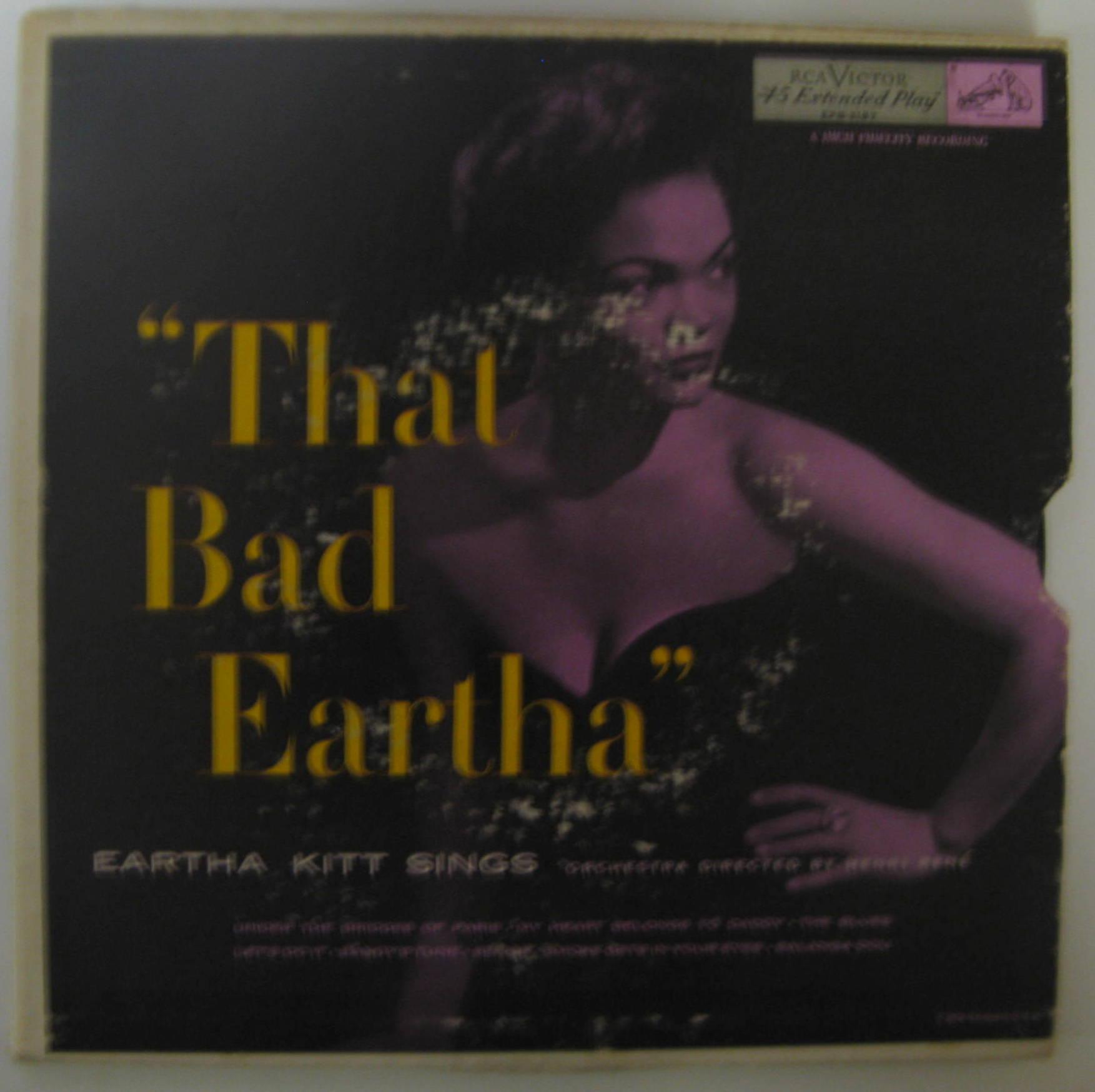 Eartha Kitt / That Bad Eartha EP