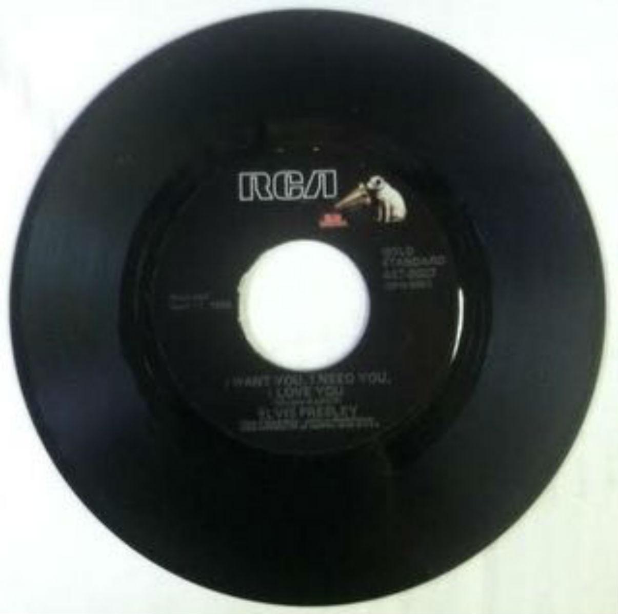 Elvis Presley / I Want You, I Need You, I Love You