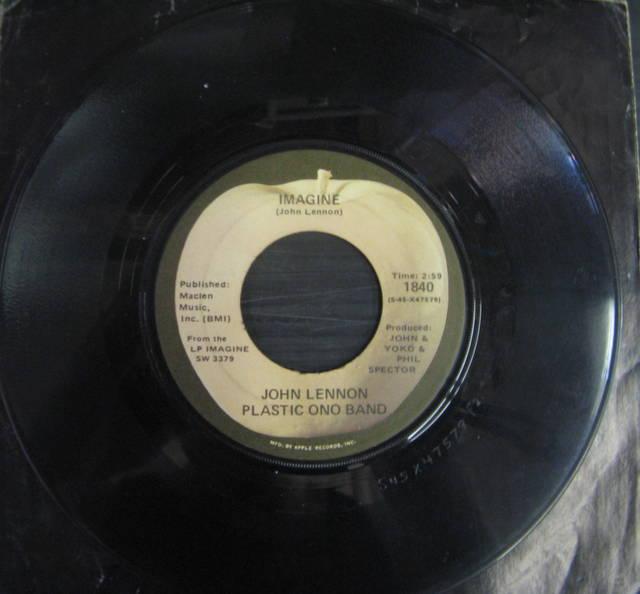 John Lennon Plastic Ono Band / Imagine