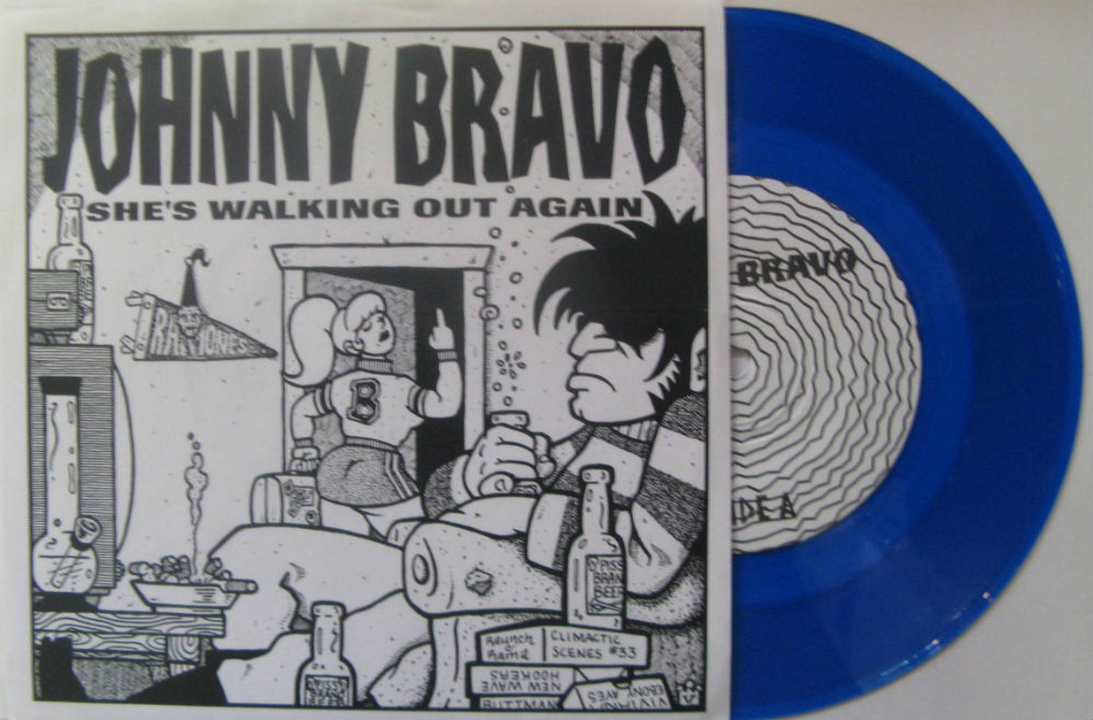 Johnny Bravo / She's Walking Out Again