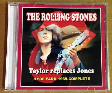 Rolling Stones / Taylor Replaces Jones