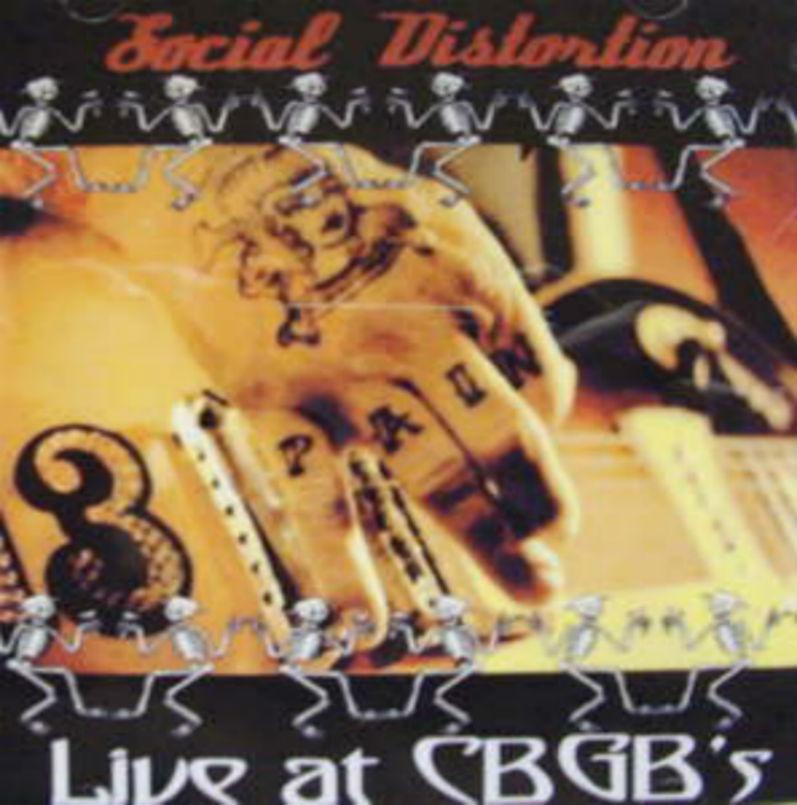 Social Distortion / Live At CBGB's
