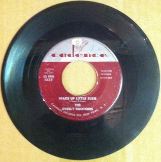 Everly Brothers - Wake Up Little Susie - 45T SP 2 titres