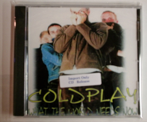 Coldplay / What the World Needs Now