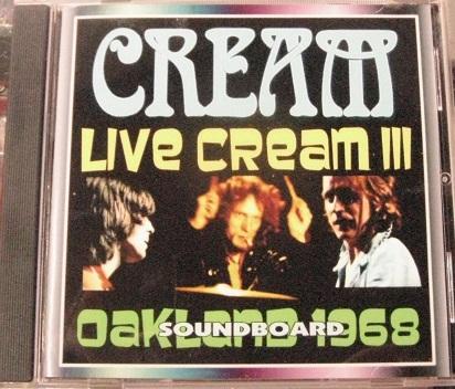 Cream / Live Cream III