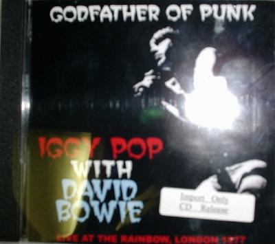 Iggy Pop With David Bowie / Godfather Of Punk