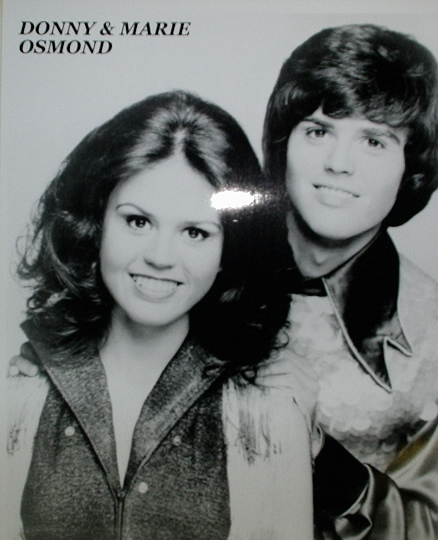 Donny & Marie Osmond / Head Shot
