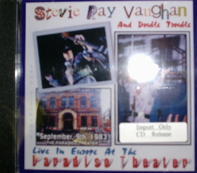 Stevie Ray Vaughan & Double Trouble / Paradise Theater 1983 Tour Of Europe