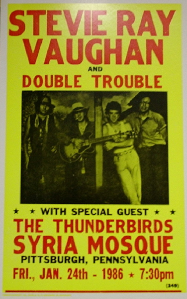 Stevie Ray Vaughan Amp Double Trouble Syria Mosque 1986