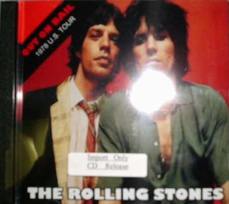 Rolling Stones / Out On Bail 1978 U.S. Tour