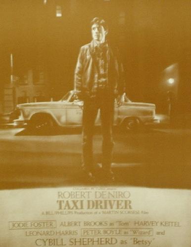 PW0 PRINT IMAGE PHOTO TAXI DRIVER MOVIE POSTER Robert De Niro Punk RARE NEW