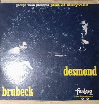 Dave Brubeck / Jazz At Storyville