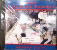 Rolling Stones / Sydney Royal Randwick Racecourse 2-26-73