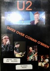 U2 / Takes Over Conan O'Brien
